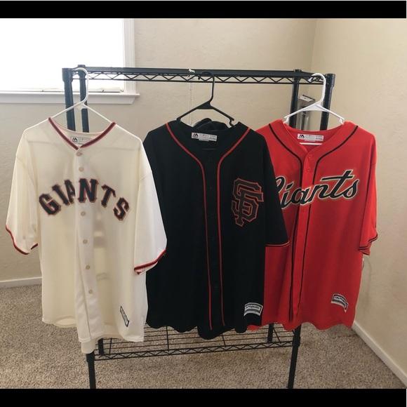 new product d5b0c 1adbe San Francisco Giants Coolbase jerseys sz 2XL $50